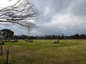 深北緑地公園内の景色