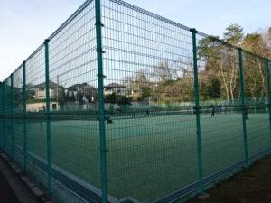 東地区の隣接テニスコート