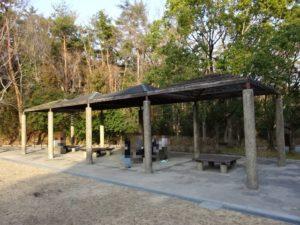 東地区の休憩所