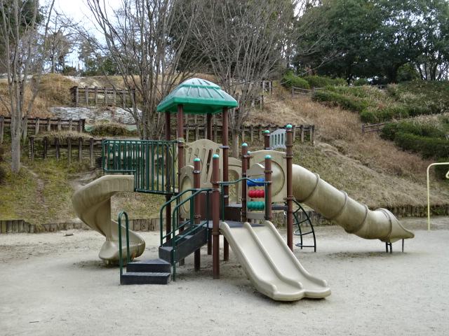 大渕池公園西地区の遊具