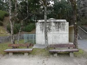 大渕池公園西地区児童広場のトイレ