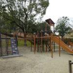 大渕池公園西地区の児童広場の大きな遊具