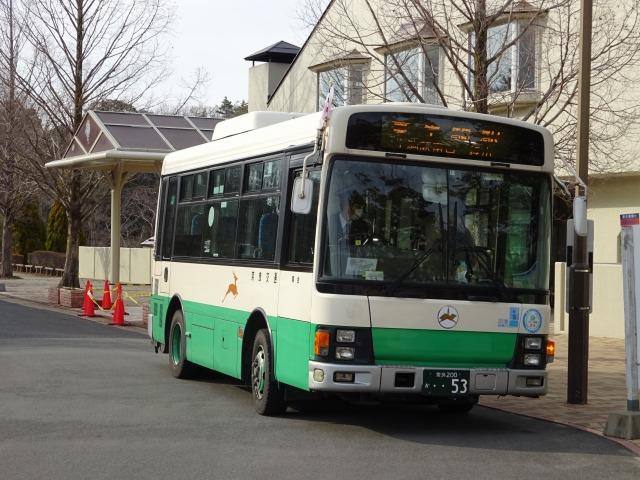 奈良交通バス生駒山麓公園行き