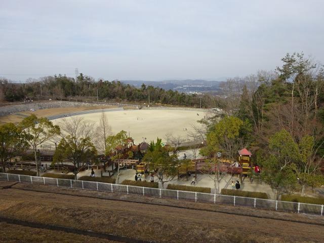 生駒山麓公園からの景色