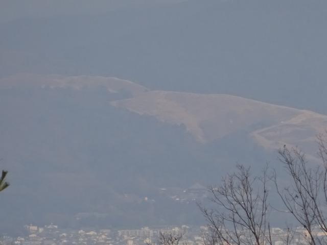 生駒山麓公園からの景色「若草山」