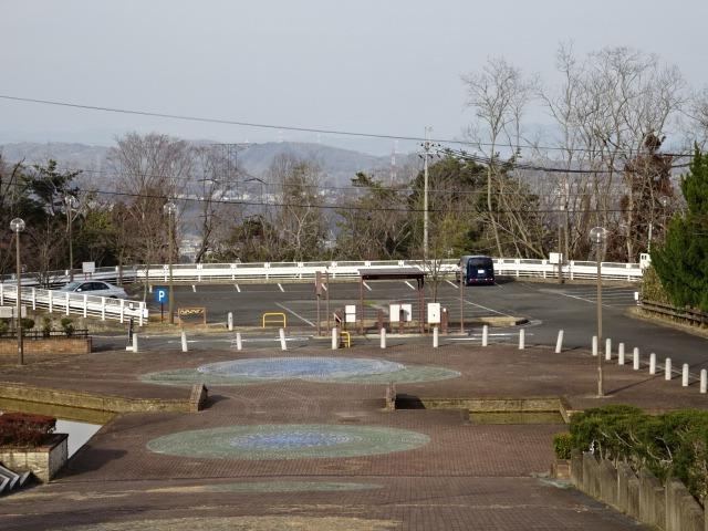 生駒山麓公園の駐車場