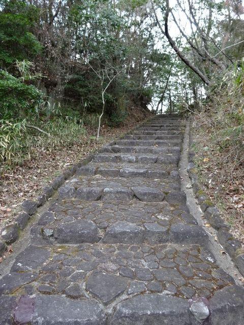 山麓公園の展望台までの道その3