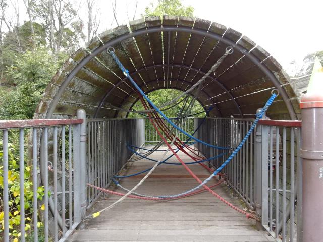 バンクーバー砦ロープジャングル