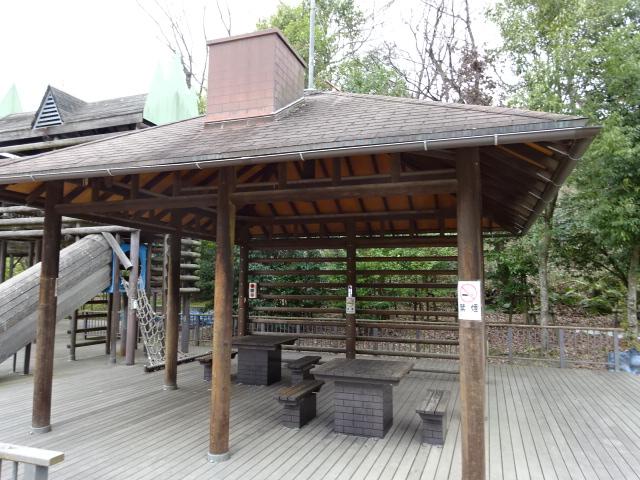 バンクーバー砦の休憩所