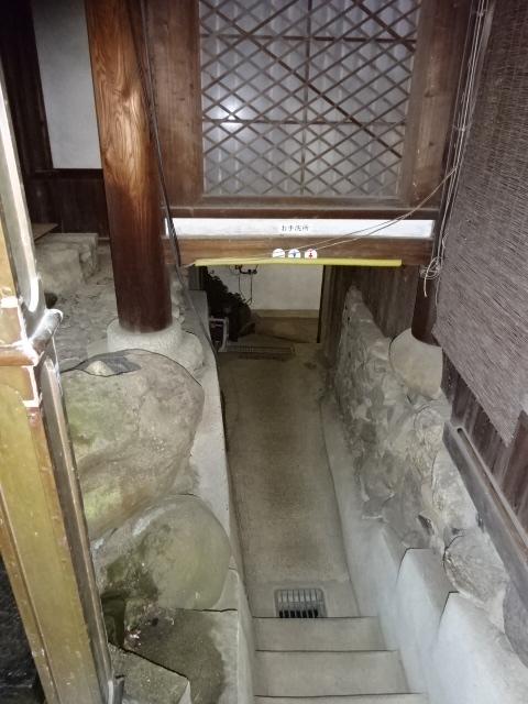 氷室神社のトイレ
