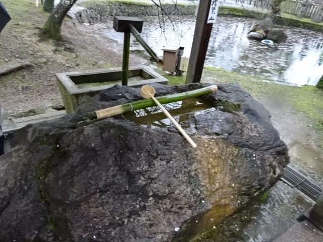 氷室神社御手洗い