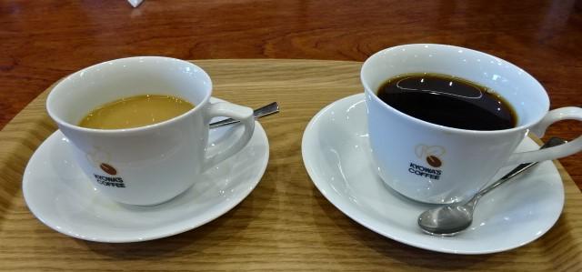 ブレンドコーヒーのLとR