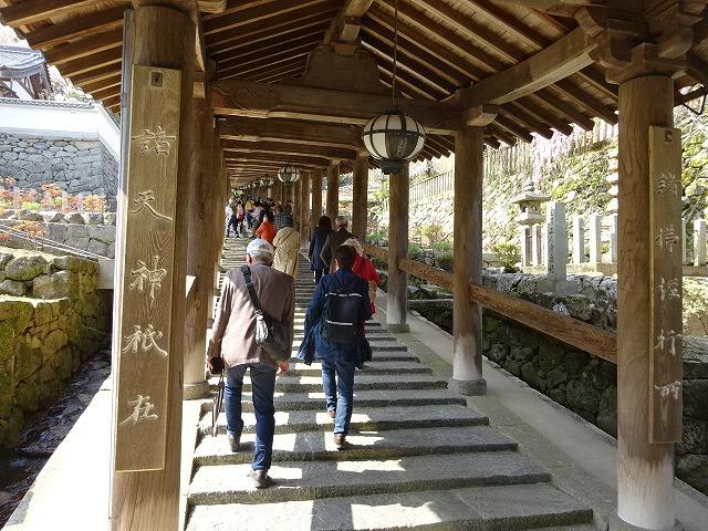 長谷寺登廊入り口