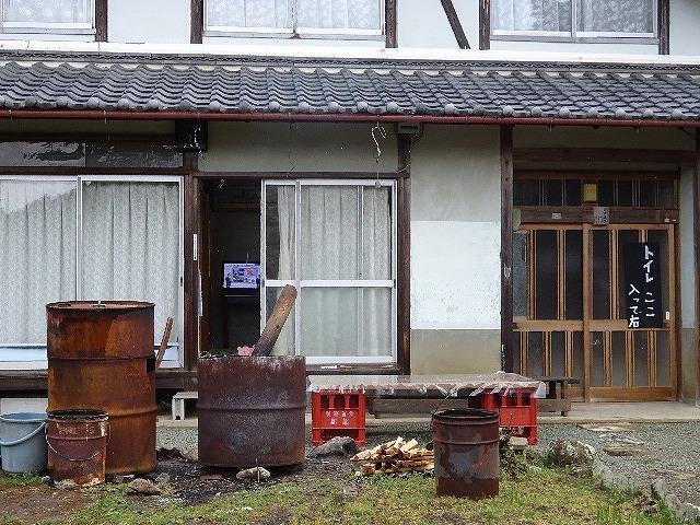 諸木野の桜、トイレのある家