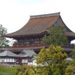 吉水神社から見える金峯山寺