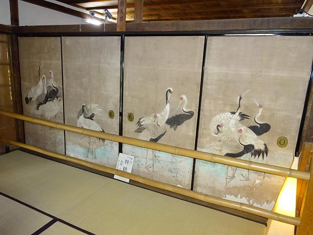 吉水神社群鶴