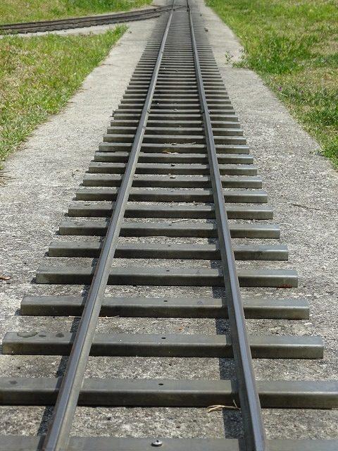 まほろばファミリー鉄道線路