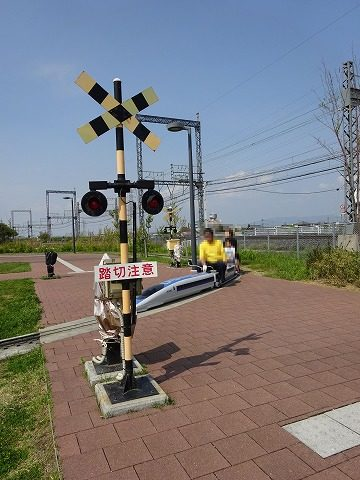 まほろばファミリー鉄道踏切2