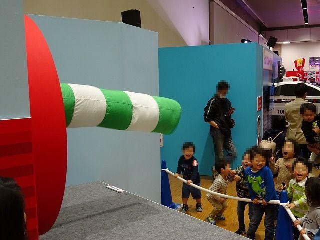 トミカ博展示ゾーンブロアー者の風