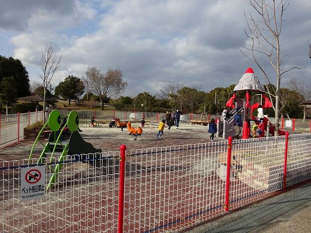 深北緑地ロケット広場の幼児コーナー