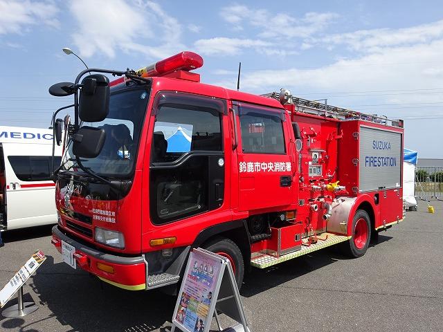 働く車 消防車