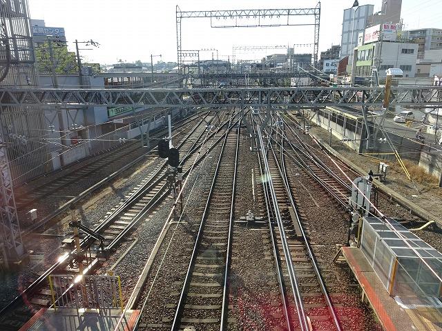 大和西大寺駅展望台デッキ内