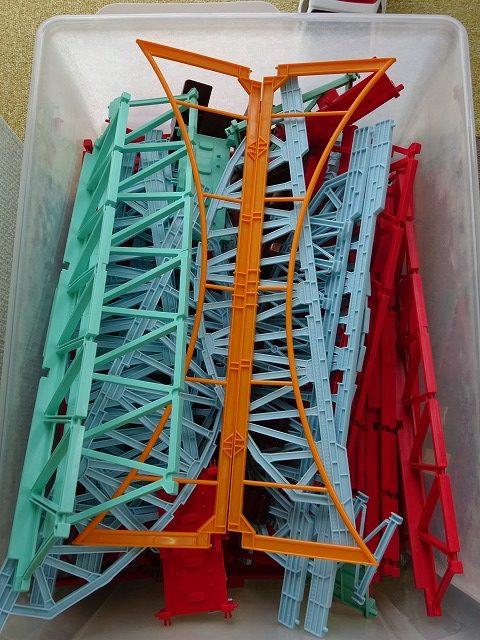 イトイパーク福島店のプラレール情景部品の鉄橋