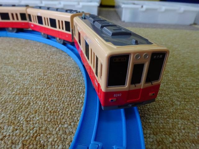 プラレール阪神電車8000系赤胴車