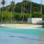 田辺公園プール屋外プール