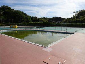 田辺公園プール屋外幼児プール