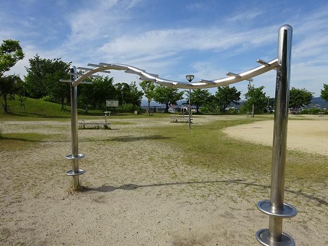 田辺公園健康広場ラダー