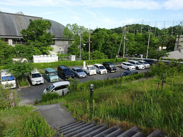 田辺公園花見山駐車場