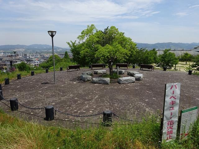 田辺公園展望広場