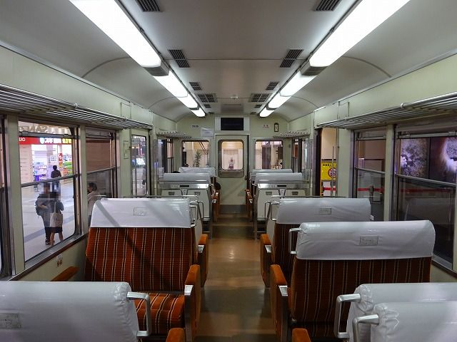 SANZEN-HIROBA京阪特急車内