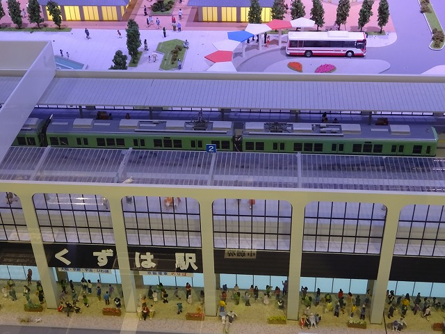 SANZEN-HIROBA京阪沿線ジオラマくずは駅