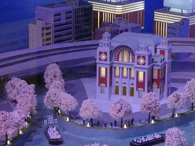 SANZEN-HIROBA京阪沿線ジオラマ中央公会堂
