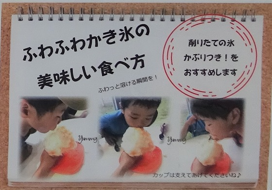 奈良の氷屋ヒノデさんのかき氷のおいしい食べ方
