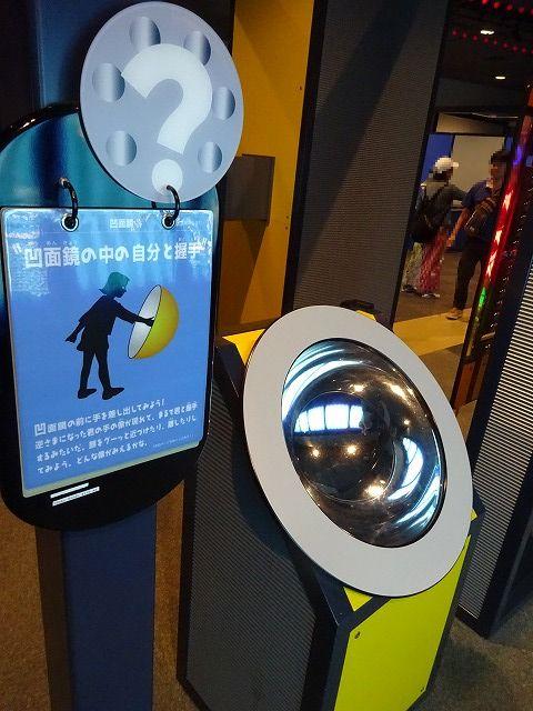 きっづ光科学館ふぉとん凹面鏡