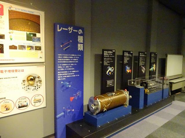 きっず光科学館ふぉとん レーザーの種類