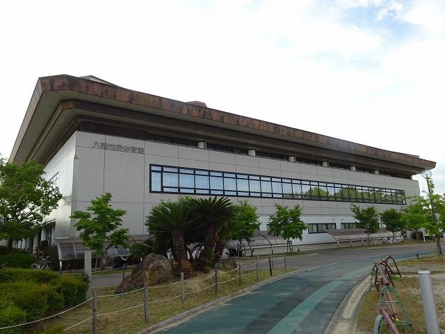 八幡市民スポーツ公園の体育館