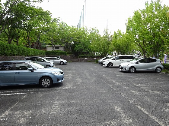 田辺公園の駐車場