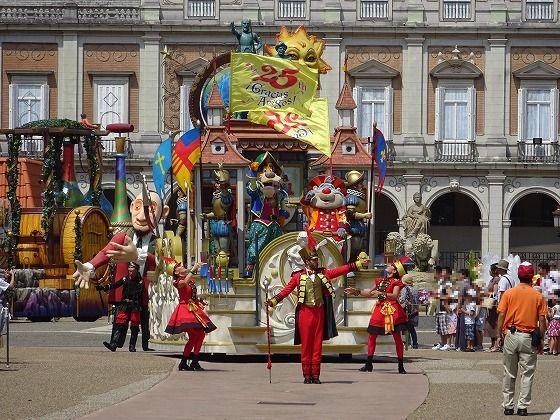 志摩スペイン村パルケエスパーニャパレード