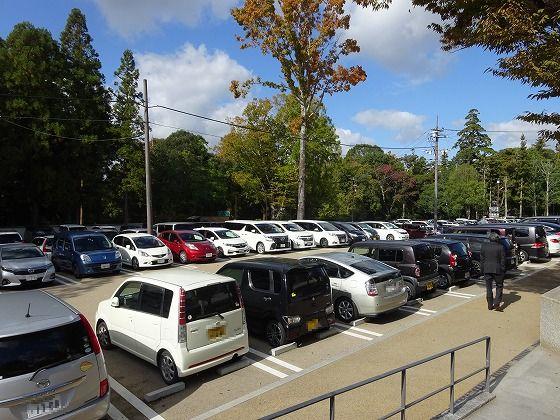 春日大社 駐車場