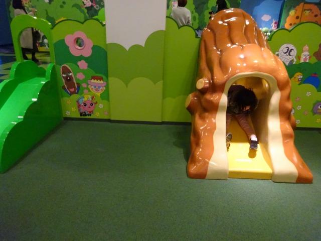 アンパンマンミュージアムわんぱくランドすべり台