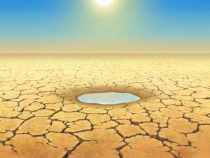 水無月の干ばつ