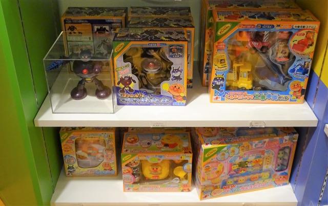 アンパンマンミュージアム ミュージアムショップのおもちゃ2