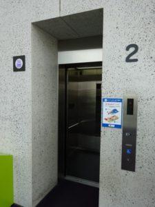 神戸アンパンマンミュージアムエレベーター
