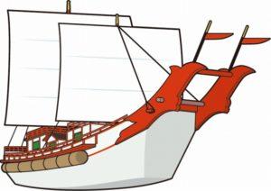 遣唐使の船