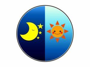 太陰太陽暦のイメージ