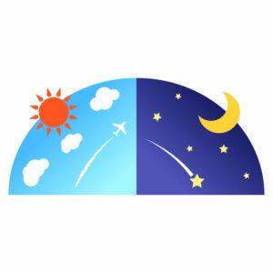 太陰太陽暦のイラストイメージ